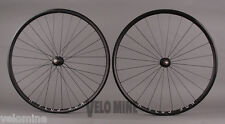 H + Plus Son Archetype Rims Black Phil Wood Track hubs Fixed Gear Bike Wheelset