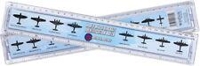 World War 2 Aircraft Identification 30cm Ruler