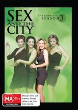Sex And The City : Season 3 (DVD, 2006, 3-Disc Set)