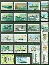 BOATS SHIPS Thematic STAMP Collection ALL Commonwealth UNMOUNTED MINT Ref:TT798