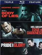 Body of Lies/Edge of Darkness/Pride and Glory (Blu-ray Disc, 2012, 3-Disc Set)