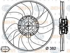 8ew 351 044-351 HELLA Ventilador Radiador Izquierdo