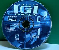 Project IGI: I'm Going In (PC, 2000) (NO CODE) Disc Only # 35835