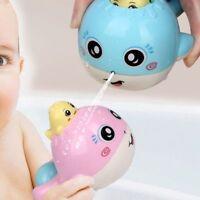 Cartoon Whale Shape ABS Home Bath Toy Swimming Flower Sprinkler Water Spray