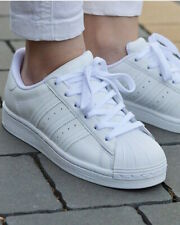 Adidas Originals Trefoil Scarpe Sportive Sneakers Superstar Bianco