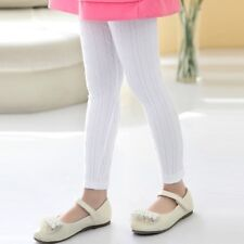 INFANTIL DE OCHOS Leggings pantalones ajustados Elástico Largo Pantalones Lisos