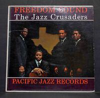 Jazz Crusaders Freedom Sound Scarce Mono Pacific Jazz Black Label Play Graded Ex