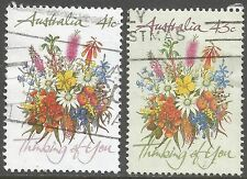 Flowers Australian Stamp Individuals