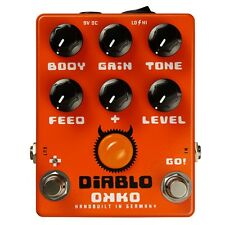 OKKO FX Diablo Gain Plus Overdrive Distortion New guitar effect pedal