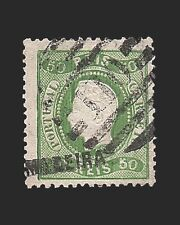 VINTAGE:MADIERA-PORTUGAL 1868 USD LHR  SCOTT 11  $140 LOT #1868X231