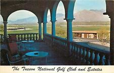 Tuscon AZ~The Tuscon National Golf Club Santa Catalinas~Balustrade 1964