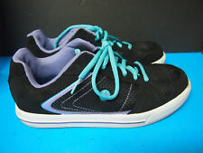 AirWalk Sneakers Shoes Black Youth Girl's Size 5 VGC