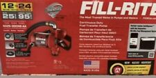 Fill-Rite Nx25-Ddcnb-Aa 12V / 24V 25 Gpm Continuous Duty Bung Mounted