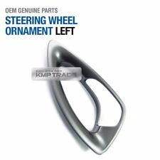 OEM Steering Wheel Switch Bezel Ornament LH for HYUNDAI 2011-2014 Sonata Hybrid