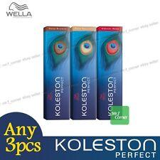 Any 3pcs - Wella Koleston Perfect Permanent Hair Color Dye 60g