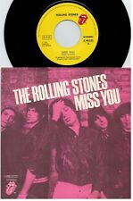 THE ROLLING STONES Miss you + Far away eyes 45rpm 7' + PS 1978 ITALY MINT-