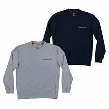 Tommy Hilfiger Mens Sleep Shirts Long Sleeve Night Pajama Top Sleepwear Logo New