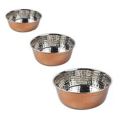 Smart Garden Products Zoon CopperCraft Stainless Steel Pet Dog Water Food Bowl