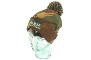 Aqua Products Camo Bobble Hat  *PAY 1 POST*
