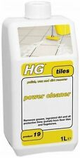 HG HAGESAN POLISH WAX & DIRT REMOVER POWER CLEANER 1 LITRE - GREASE DIRT TILES