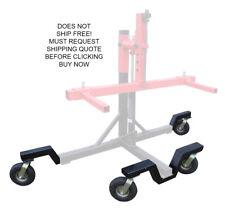 NEW Redline RTS3000 ROT3K Automotive Rotisserie Off Road Caster Wheel Tire Kit