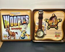 Disney Pixar TOY STORY 2 WOODY'S ROUNDUP Fossil Limited Edition RARE Watch w/COA