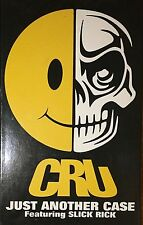 CRU Just Another Case Slick Rick HTF 3-track Single Rap Yogi Violator Def Jam