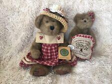 Boyd's Bears Prudence Bearimore & Cherish Heartlee