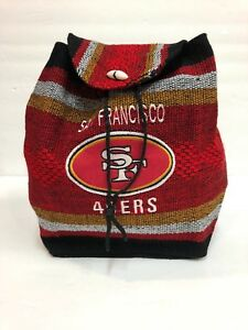 49 ners, Dodgers, Raiders ,Cowboys  Mexican Authentic Woven Medium Backpack Boho