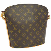 LOUIS VUITTON DROUOT CROSS BODY SHOULDER BAG PURSE MONOGRAM M51290 A46674f