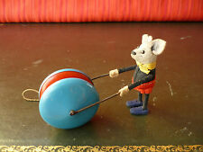 1$ Auction Rare 1930's Schuco Tin Yoyo Jojo Yo-yo Mickey Mouse