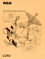 NASA 1971 Apollo 11 Moon Mission Landing Lunar Comms Concept Art Print Poster