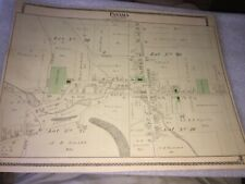 1881 MAP OF PANAMA, CHAUTAUQUA COUNTY NY
