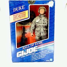 "GI Joe Action Figure NIB Hall of Fame Duke Master Sergeant Soldier Hasbro 12"""