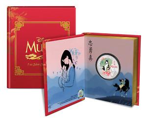 2021 Disney Princess Mulan 1 oz .999 proof coin OGP