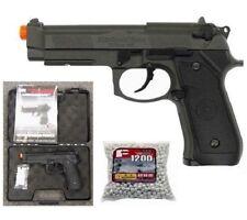 HFC M9 Gas Blowback Full Metal Air Soft Pistol with Gun Case 1200 .20g BBs