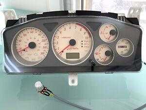 Mitsubishi Lancer EVO 9 Ralliart S3 design gauge cluster