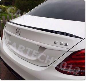 Mercedes Benz Carbon Fibre C205 Couple 2D C Class 2014+ Rear Boot Spoiler UK