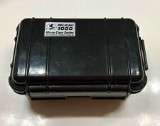 USED Pelican Micro Case 1050 Black Dust proof, water resistant, crush proof