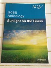 AQA GCSE Anthology Sunlight on the Grass OXFORD