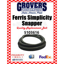 """FERRIS / SNAPPER Deck Belt Part #,5103616 FITS IS2100 & IS3200 61""""  MADE IN USA!"""