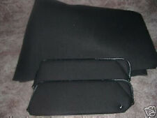 1979-81 camaro new sun visors and headliner material  black