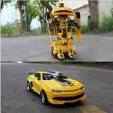 Transformers Bumblebee Robot Remote Control Robot Transform Car Vehicle Toy Gift