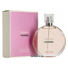 CHANEL CHANCE EAU VIVE for WOMEN * 3.3/3.4 (100 ml)  EDT Spray * NEW & SEALED