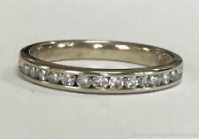 Estate Jewelry Ladies 0.25 Ctw Diamond Ring 14K White Gold Band Size 6