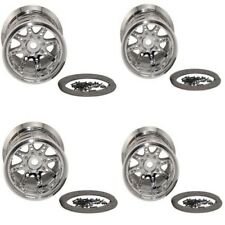 New Axial Savage Revo T-Maxx 17mm Beadlock Wheels/Rims 40 Series 8 Spok AX8043