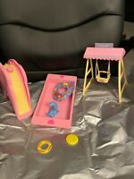Heart Family Sunshine Fun Play Set-by Mattel-Vintage 1988-Mint Condition