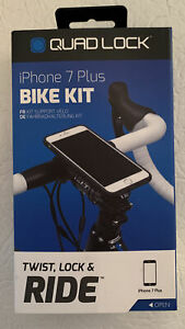 Quad Lock Bike Mount Kit for iPhone 7 Plus(Preowned Never Used)🔥FREE SHIP🔥
