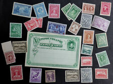 NEWFOUNDLAND MINT H*/NO GUM/ NH** SMALL COLLECTION POSTAL STATIONARY CARD (D)