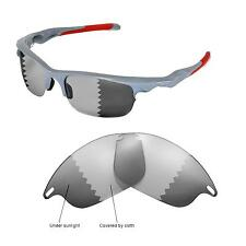 New Walleva Polarized Transition/Photochromic Lenses For Oakley Fast Jacket